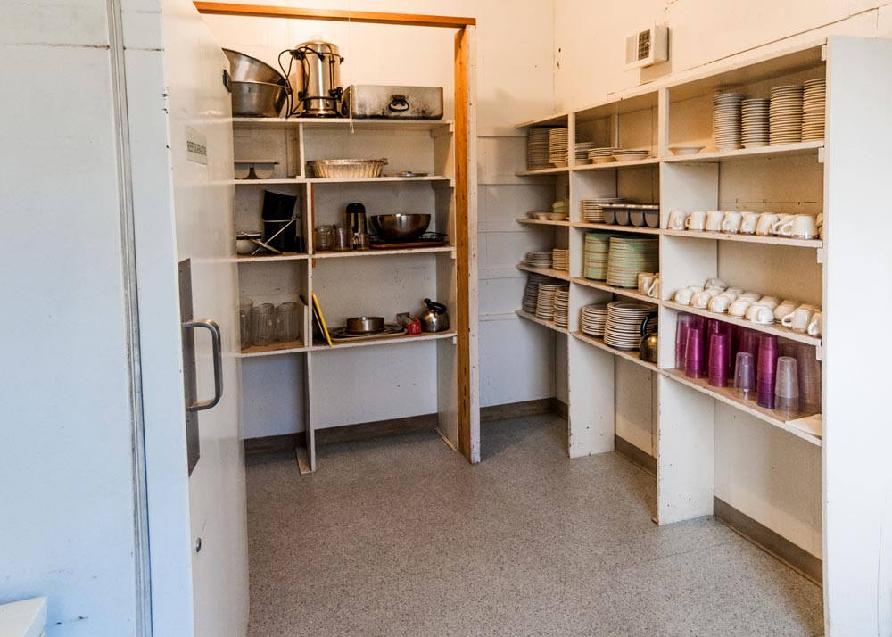 Bachelor Officer's Quarters Pantry