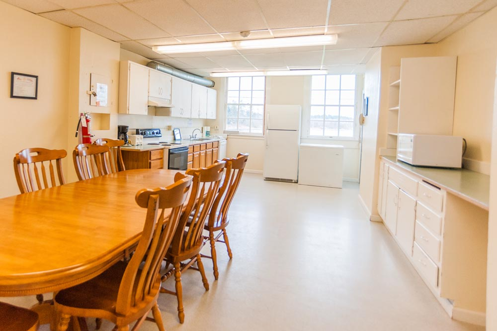 Quartermaster's Building kitchen