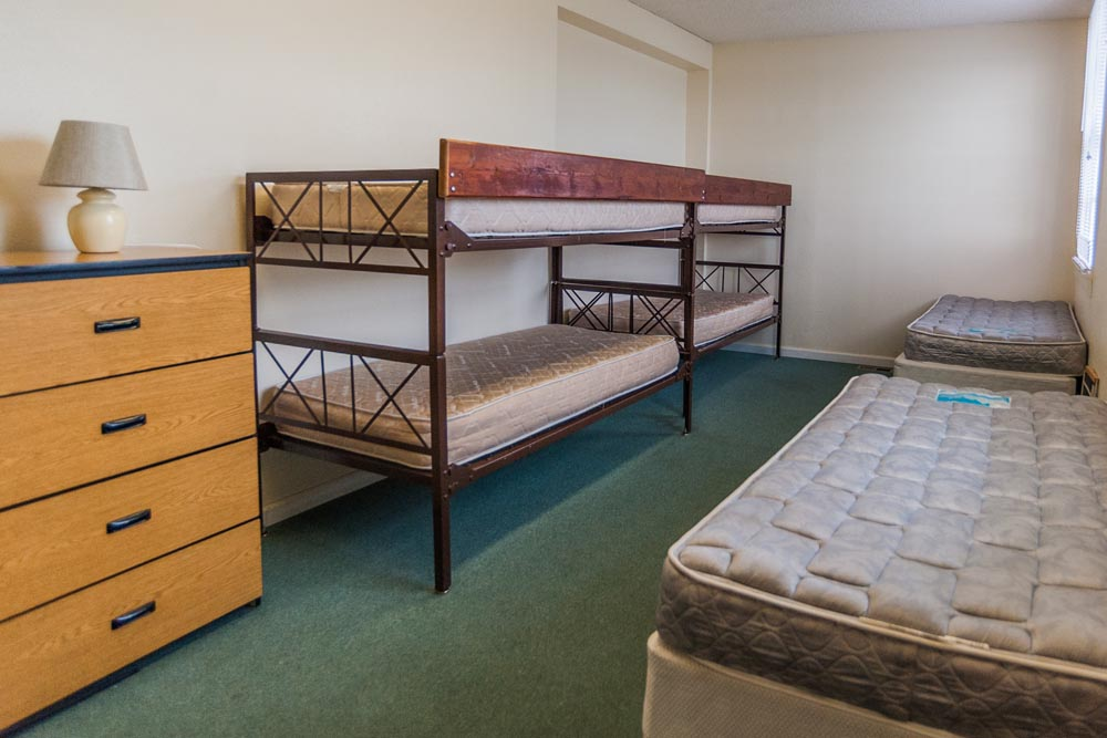 Quartermaster's Building bedroom