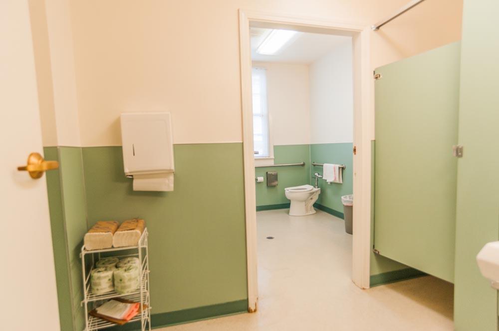 Quartermaster's Building bathroom