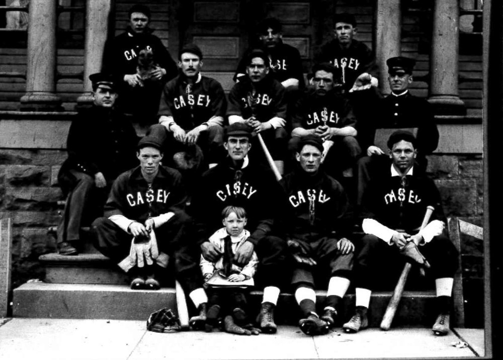 Baseball teams were very popular and each year the team designed their own uniforms. They played other military posts, high schools, and civilian company teams.