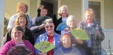 Quilting Retreat - working on quilting projects and building upon friendships