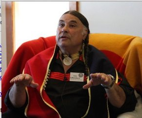 "Native Storytelling -""I am here to educate"""