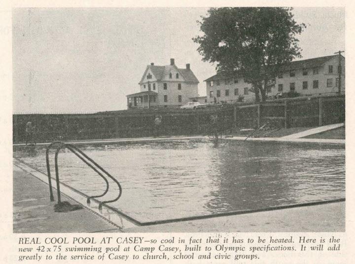 Camp Casey Pool photo, 1960