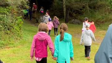 Forest Meadow Walk Creates Outdoor Classroom