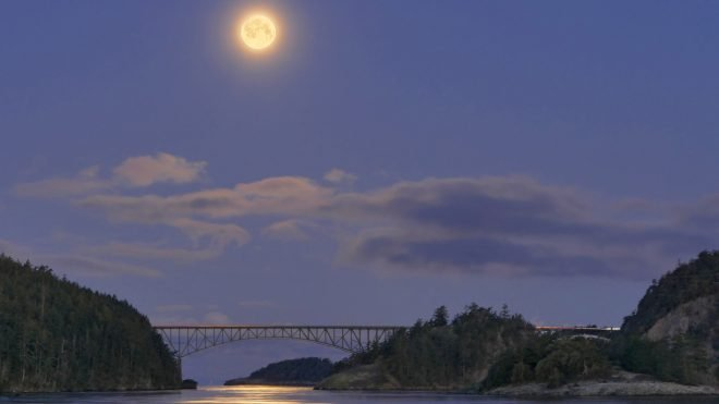 Summer Offers Dramatic Night Sky