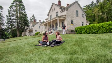 Fort Casey Inn Offers Guests Private Getaway