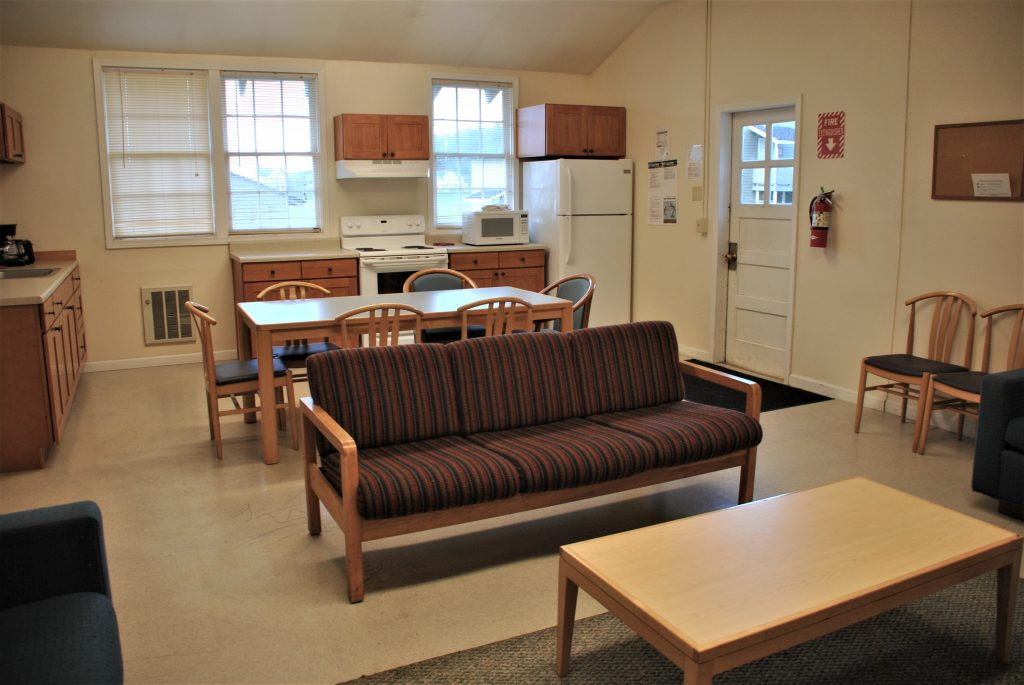 Staff Quarters B Living and Kitchen