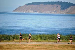 running at camp casey